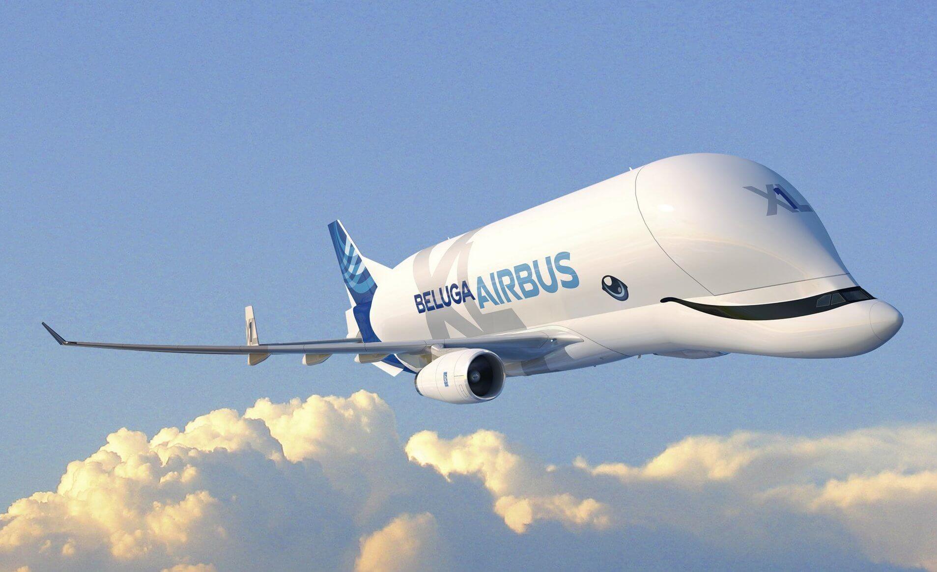 самолетик белуга